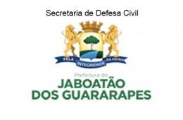Secretaria de Defesa Civil da Prefeitura de Jaboatão dos Guararapes